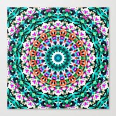 Tribal Mandala G405 Canvas Print