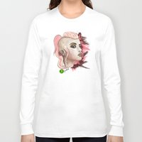 blondie Long Sleeve T-shirts featuring Blondie - Pinkie by Codexa