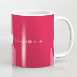 {Teacher - Big Heart} Coffee Mug