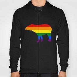Rainbow Tapir Hoody