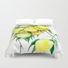 Lemon Tree. lemons kitchen design decor Duvet Cover