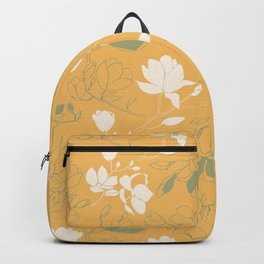 Magnolia flowers Backpack