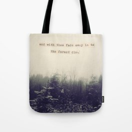With Thee Tote Bag