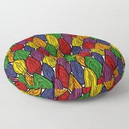 Vagina - Rama in Rainbow Floor Pillow