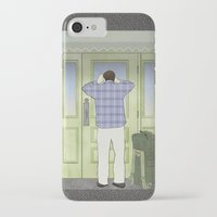 military iPhone & iPod Cases featuring Military Homecoming by Aquamarine Studio