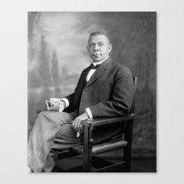 Booker T. Washington Canvas Print