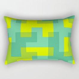 pixel 001 03 Rectangular Pillow