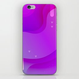 ABSTRACT SCIENCE TECHNOLOGY DESIGN iPhone Skin
