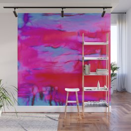 Pink Storm Wall Mural