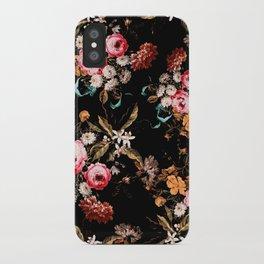 Midnight Garden IV iPhone Case