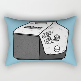 Uncle Jimmy's Lunchbox Rectangular Pillow