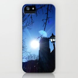 Twin Planets iPhone Case