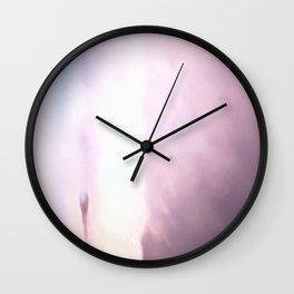Acrylic Violet Haze Wall Clock