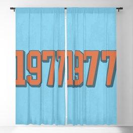 1977 Blackout Curtain