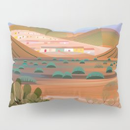 Copper Town (Square) Pillow Sham