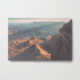 Dead Horse Point Panoramic Metal Print