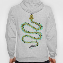 Turquoise Serpent Hoody