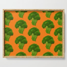 FOREVER Broccoli Serving Tray