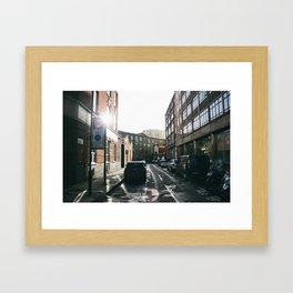 Catch the sun Framed Art Print