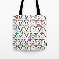 splatter pop panda cookies Tote Bag