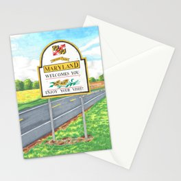 Welcome to Maryland Stationery Cards