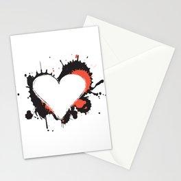 I Heart Live Art Stationery Cards