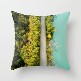 Aerial Study 2 Throw Pillow