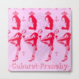 French Cabaret Metal Print