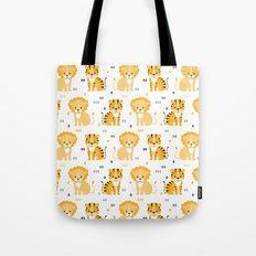 Lion & tiger Tote Bag
