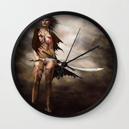 last fight Wall Clock
