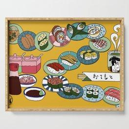Kuru Kuru Sushi Train Serving Tray