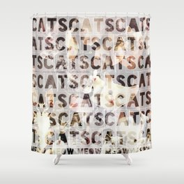 *cats*cats*cats* Shower Curtain