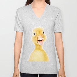 Little Duckling Unisex V-Neck