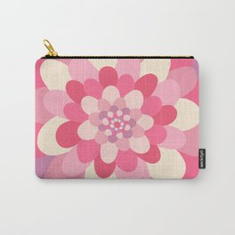 Bloom pattern Carry-All Pouch