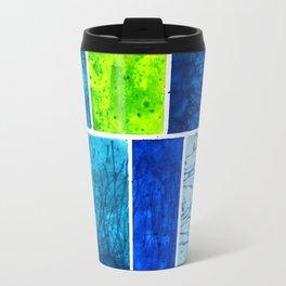 Blue Block Travel Mug