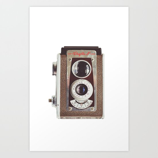 Kodak Duaflex  Art Print