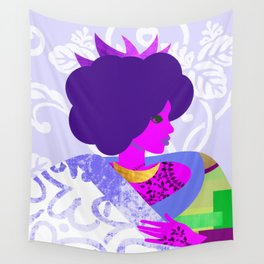 Queen's Robe Wall Tapestry