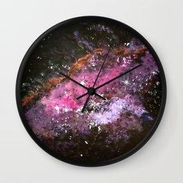 A Nebula Wall Clock