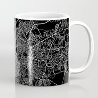 brussels Mugs featuring Brussels by Line Line Lines