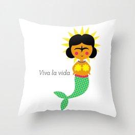 Viva a Vida Throw Pillow