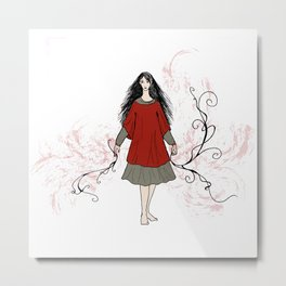 No Bad Blood Metal Print