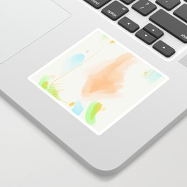Abstract sunrise S5 Sticker