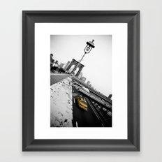 Brooklyn Bridge #1 Framed Art Print