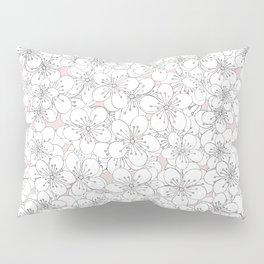 Cherry Blossom Pink Blocks Pillow Sham