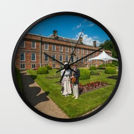 Erddig Stately Home Wall Clock