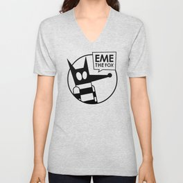 Eme - No Color Unisex V-Neck