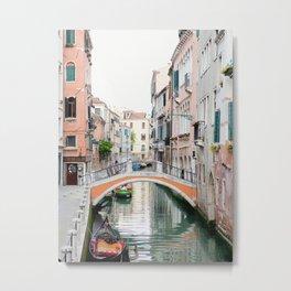 Venezia - Venice Italy Travel Photography Metal Print