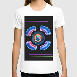 Abstract in Perfection - Magic of the colors T-shirt