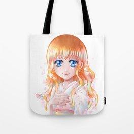 Hana floraison Tote Bag