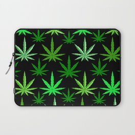 Marijuana Green Weed Laptop Sleeve